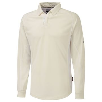 Picture of Premier Ivory Long Sleeve Shirt - White Trim
