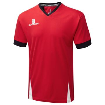 Picture of Blade Training Shirt : Red / Navy / White
