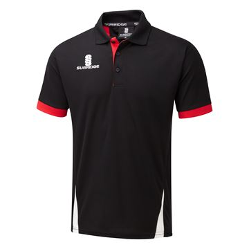 Picture of Blade Polo Shirt : Black / Red / White