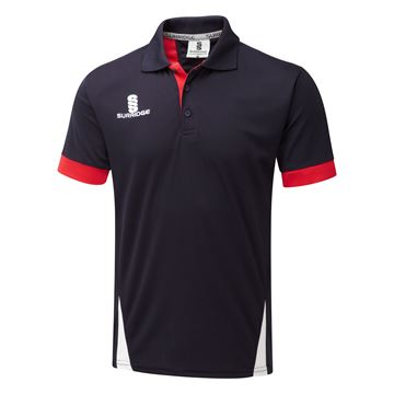 Picture of Blade Polo Shirt : Navy / Red / White