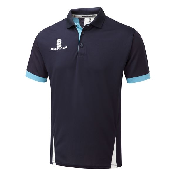 Picture of Blade Polo Shirt : Navy / Sky / White