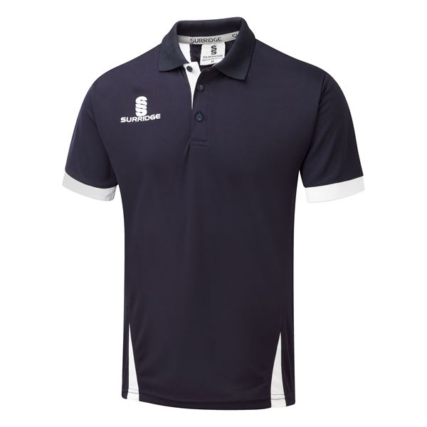 Picture of Blade Polo Shirt : Navy / White