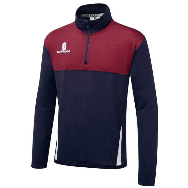 Picture of Blade Performance Top : Navy / Maroon / White