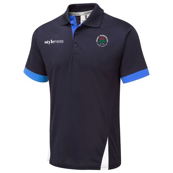 Picture of MWDCC Blade Navy/Sky/White Polo