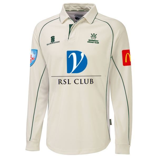 Picture of WCC Premier Cricket Shirt Long Sleeve