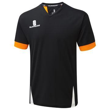 Picture of Blade Training Shirt : BLACK/ORANGE/WHITE