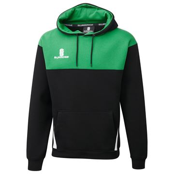 Picture of Blade Hoody : BLACK / EMERALD / WHITE