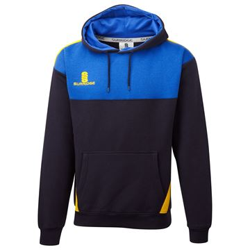 Picture of Blade Hoody : Navy / Royal / Amber