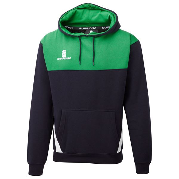 Picture of Blade Hoody : NAVY / EMERALD / WHITE