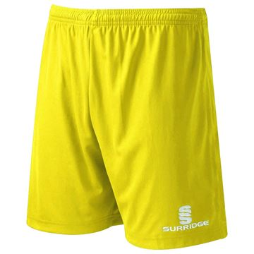 Picture of SURRIDGE MATCH SHORT YELLOW