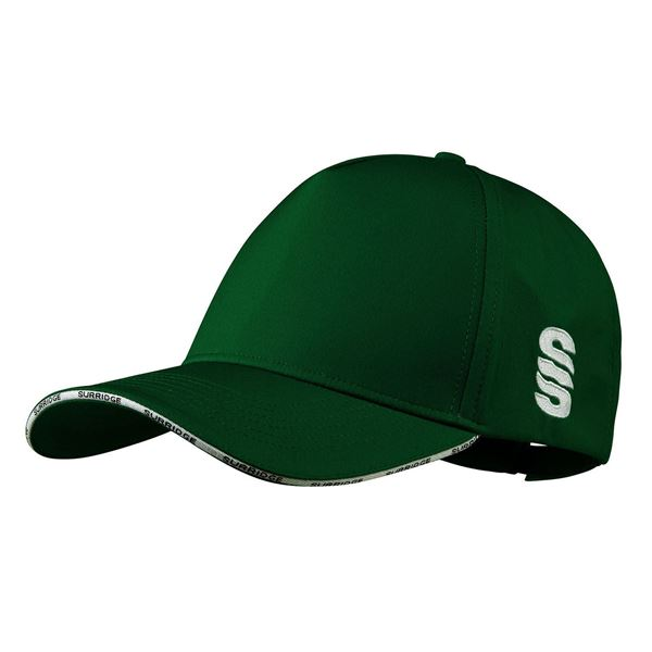 Picture of Microfibre 5 Panel Baseball Style Cap - GREEN