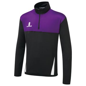 Picture of Blade Performance Top : Black/Purple/White