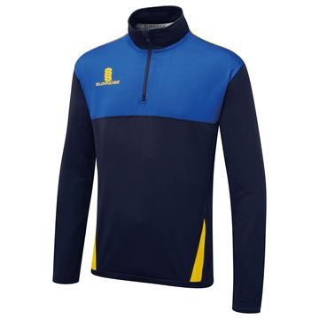Picture of Blade Performance Top : Navy / Royal/ Amber