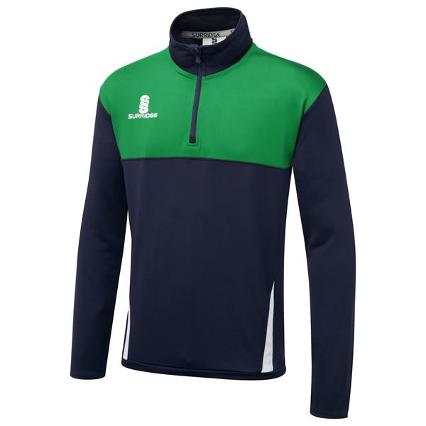 Picture of Blade Performance Top : Navy/Emerald/White