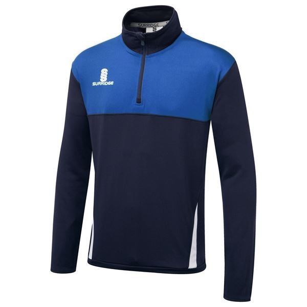 Picture of Blade Performance Top : Navy/Royal/White