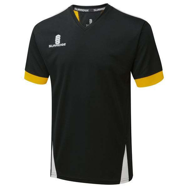 Picture of Blade Training Shirt : BLACK/AMBER/WHITE
