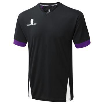 Picture of Blade Training Shirt : BLACK/PURPLE/WHITE