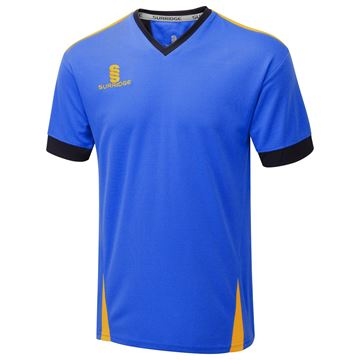 Picture of Blade Training Shirt : Royal / Navy / Amber