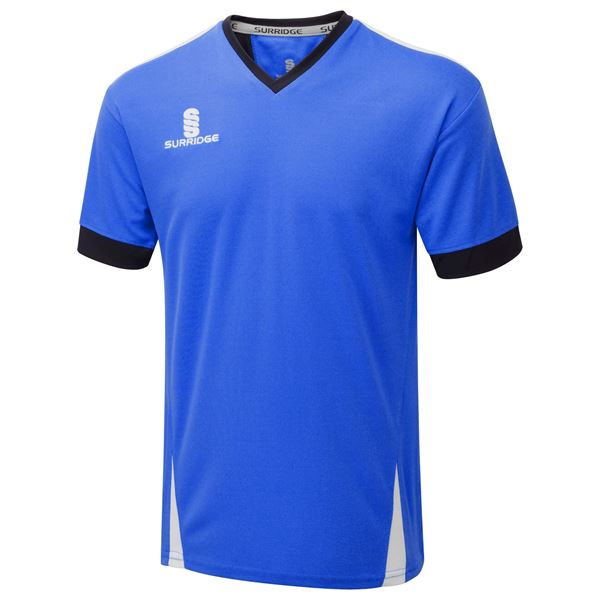 Picture of Blade Training Shirt : Royal / Navy / White